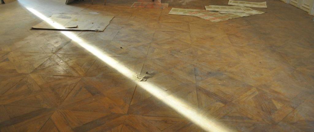 lamatura restauro parquet antico prima